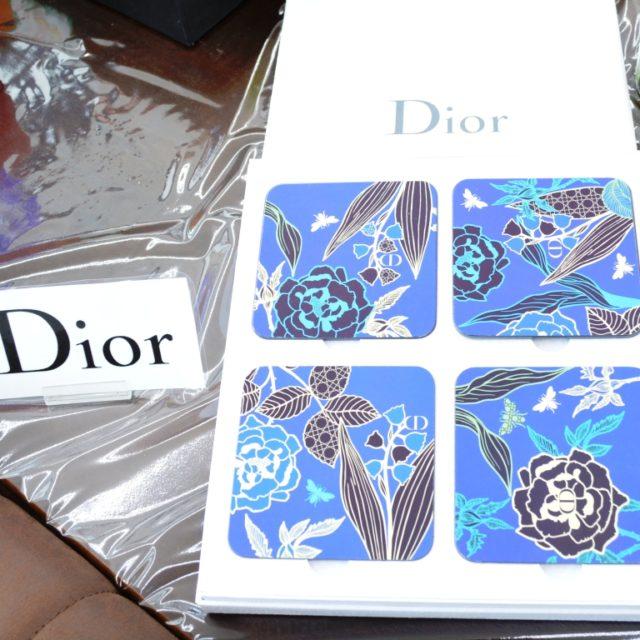 Dior コースター 4枚セット 未使用